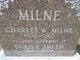 Profile photo:  Doris Elizabeth <I>Smeed</I> Milne