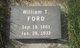 William Thomas Ford