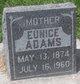 Profile photo:  Eunice Adams