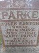 Profile photo:  Agnes <I>Easton</I> Parke