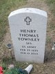 "Profile photo:  Henry Thomas ""Tom"" Townley"
