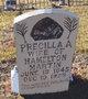 Mrs Precilla Ann <I>Buchanan</I> Martin