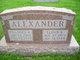 Frances Alma <I>Sidenstricker</I> Alexander