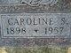 Profile photo:  Caroline S <I>Michaelson</I> Bliss