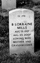 Betty Lorraine Mills