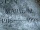 Profile photo:  Marie Josephine <I>Miner</I> Allen