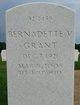 Bernadette V Grant