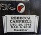 Rebecca Ann-Lanae Campbell