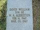 Profile photo:  David William Albritton