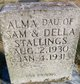 Profile photo:  Alma Stallings