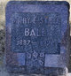 Profile photo:  Mary E. <I>State</I> Ball