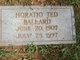 Horatio Ted Ballard
