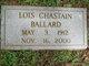 Lois Chastain Ballard