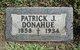 Profile photo:  Patrick James Donahue