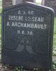 Profile photo:  A Archambault