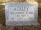 Profile photo:  Abbie Ann <I>Morrill</I> Ackley