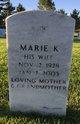 Marie K Shirey