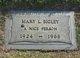 Mary Louise <I>Cannon</I> Bigley