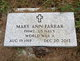 Mary Ann <I>Luis</I> Farrar