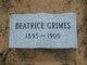 Beatrice Grimes