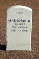 Profile photo:  Marjorie Adele <I>D'Amore</I> Bruce