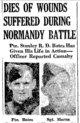 Profile photo: Pvt Stanley Robert Dearling <I> </I> Bates,