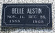Lillian Belle <I>Brassfield</I> Austin