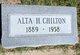 Profile photo:  Alta H Chilton