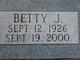 Profile photo:  Betty Jane <I>McKinney</I> Baker