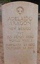 Profile photo: Pvt Adelaido Aragon