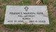 "Francis Marion ""Pete"" Pate"