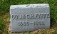 Profile photo:  Colin C.H. Fyffe