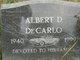 Profile photo:  Albert DeCarlo