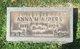 Profile photo:  Anna Mary <I>Crum</I> Alders