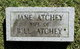 Nancy Jane <I>Morrison</I> Atchley