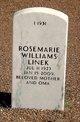 Rosemarie <I>Williams</I> Linek