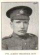 Profile photo: Private Albert Frederick Dust