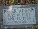 Profile photo:  Peter Adamo