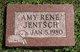 Profile photo:  Amy Rene Jentsch