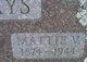 Mattie V <I>Jones</I> Hays