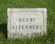 Henry Altenberg