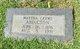 Profile photo:  Martha <I>Crews</I> Abington