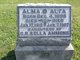 Profile photo:  Alma Ammons