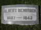 Profile photo:  Albert Benbrook
