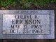 Cheryl Renee Erickson
