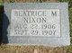 Beatrice Mae Nixon