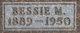 Profile photo:  Bessie May <I>Miller</I> Dishong