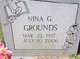 Nina Gay <I>Cowger</I> Grounds