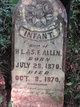 Profile photo:  Infant Allen