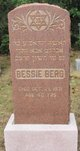 Profile photo:  Bessie Berg